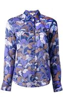 Marc Jacobs Forest Print Blouse - Lyst