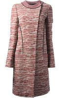 Proenza Schouler Printed Coat - Lyst