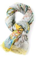 Faliero Sarti Patterned Scarf - Lyst