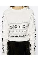 Asos Jumper with Numbers Embroidery - Lyst