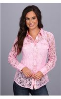 Ariat Zephyr Lace Shirt - Lyst