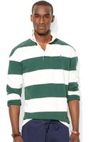 Ralph Lauren Polo Striped Rugby Shirt - Lyst