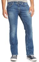 Guess Bootcut Folsom Blues Wash Jeans - Lyst