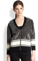 Sachin & Babi Calia Sequin Stripe Jacket - Lyst