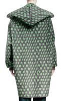 Stella McCartney Geometric Wool Jacquard Caban Coat - Lyst