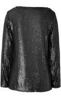 Rachel Zoe Sequined Top - Lyst