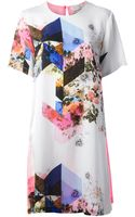 Preen By Thorton Bregazzi Quincy Silk Print Dress - Lyst