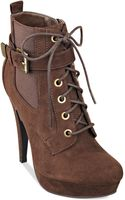 G By Guess Womens Denver Lace Up Dress Booties - Lyst