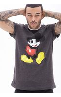 21men Pixelated Mickey Mouse Tee - Lyst