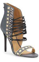 L.a.m.b. Savanna Leather Strappy Sandals - Lyst