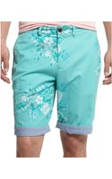 Tommy Hilfiger Pineapple Print Shorts - Lyst