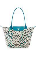 Longchamp Ile Aux Panthãres Shoulder Bag - Lyst