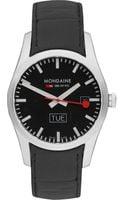 Mondaine Stainless Steel Watch - Lyst