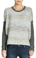 French Connection Sequined Colorblock Sweater - Lyst