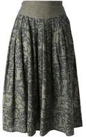 Byblos Vintage Floral Print Skirt - Lyst