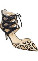 Ivanka Trump Necilaly Haircalf Stilettos - Lyst