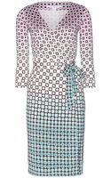 Diane von Furstenberg New Julian Two Silk Dress - Lyst