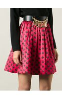 Moschino Buttons Skirt - Lyst