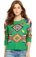 Polo Ralph Lauren Hand-knit Crewneck Pullover - Lyst