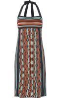 M Missoni Crochetknit Cotton Blend Dress - Lyst