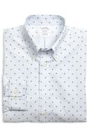 Brooks Brothers Non-iron Slim Fit Hibiscus Stripe Sport Shirt - Lyst