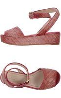 Santoni Sandals - Lyst
