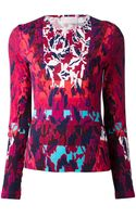 Peter Pilotto Print Top - Lyst