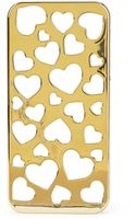 Forever 21 Heart Cutout Phone Case - Lyst