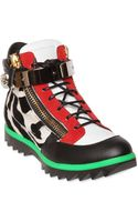 Giuseppe Zanotti Homme Zebra Printed Fun Run High Top Sneakers - Lyst
