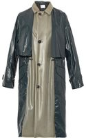 Toga Archives Latex and Laminated-nylon Trench Coat - Lyst