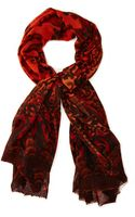 Antik Batik Wool Scarf - Lyst