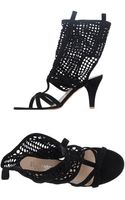 Eva Turner Highheeled Sandals - Lyst