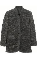 Isabel Marant Sequin-embellished Wool-blend Jacket - Lyst