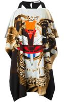 Givenchy Draped Tribal Print Blouse - Lyst