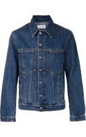 Umit Benan Denim Jacket - Lyst