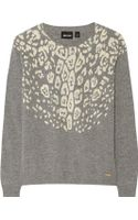Just Cavalli Knitted Sweater - Lyst