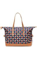 Tommy Hilfiger Diamond Print Travel Tote - Lyst