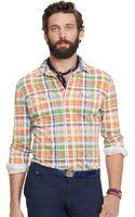 Polo Ralph Lauren Plaid Jersey Western Shirt - Lyst