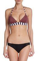 Onda De Mar Swim Cayenne Triangle Bikini Top - Lyst
