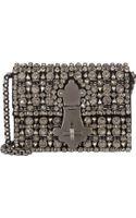 Dolce & Gabbana Crystal-embellished Ginevra Shoulder Bag - Lyst
