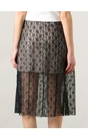 Stella McCartney Lace Skirt - Lyst