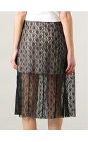 Stella McCartney Lace Skirt - Lyst