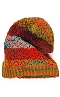 Michael Stars Blended in Color Slouch Hat - Lyst