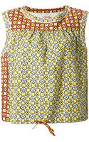 See By Chloé Printed Blouse - Lyst