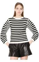 Chloé Striped Wool Sweater - Lyst