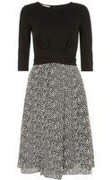 Hobbs Tweed Print Dress - Lyst