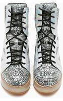Nasty Gal Jeffrey Campbell Rodman Platform Sneaker - Lyst