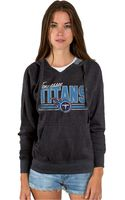 Junk Food Womens Tennessee Titans Holiday Logo Hoodie - Lyst