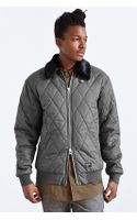 Stussy Quilted Flight Jacket - Lyst
