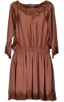 Mes Demoiselles Short Dress - Lyst